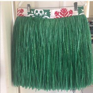 Dresses & Skirts - Banded raffia(artificial) short skirt